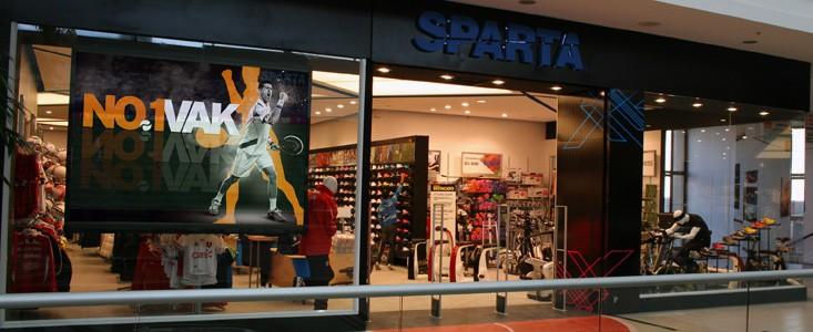 Sparta en Mall del Centro Concepción